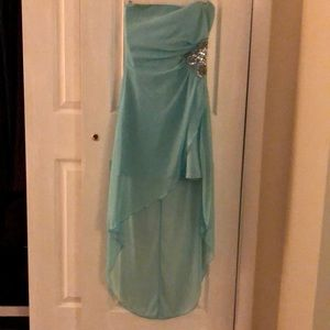 Jr hi low homecoming style dress worn once size m